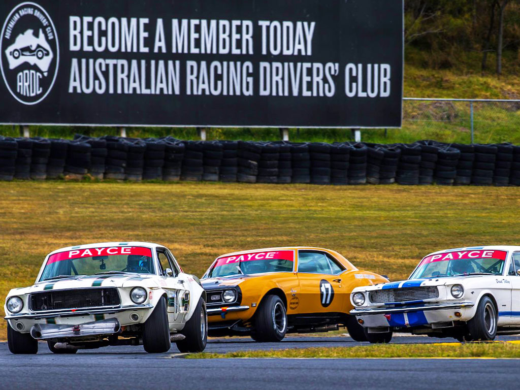 David vs Goliath at Sydney Classic Speed Festival